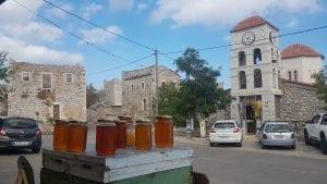 Mani road trip stone towers
