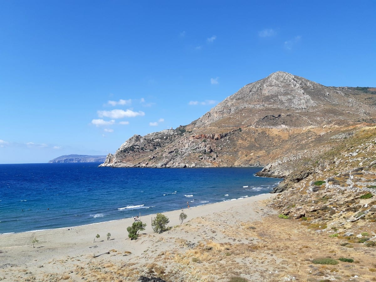 Mamari Beach in the Peloponnese