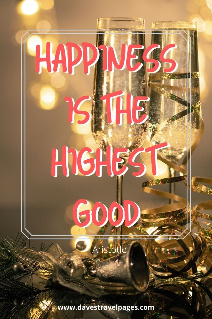 "Philosophy in Ancient Greece: ""Happiness is the highest good"" – Aristotle"