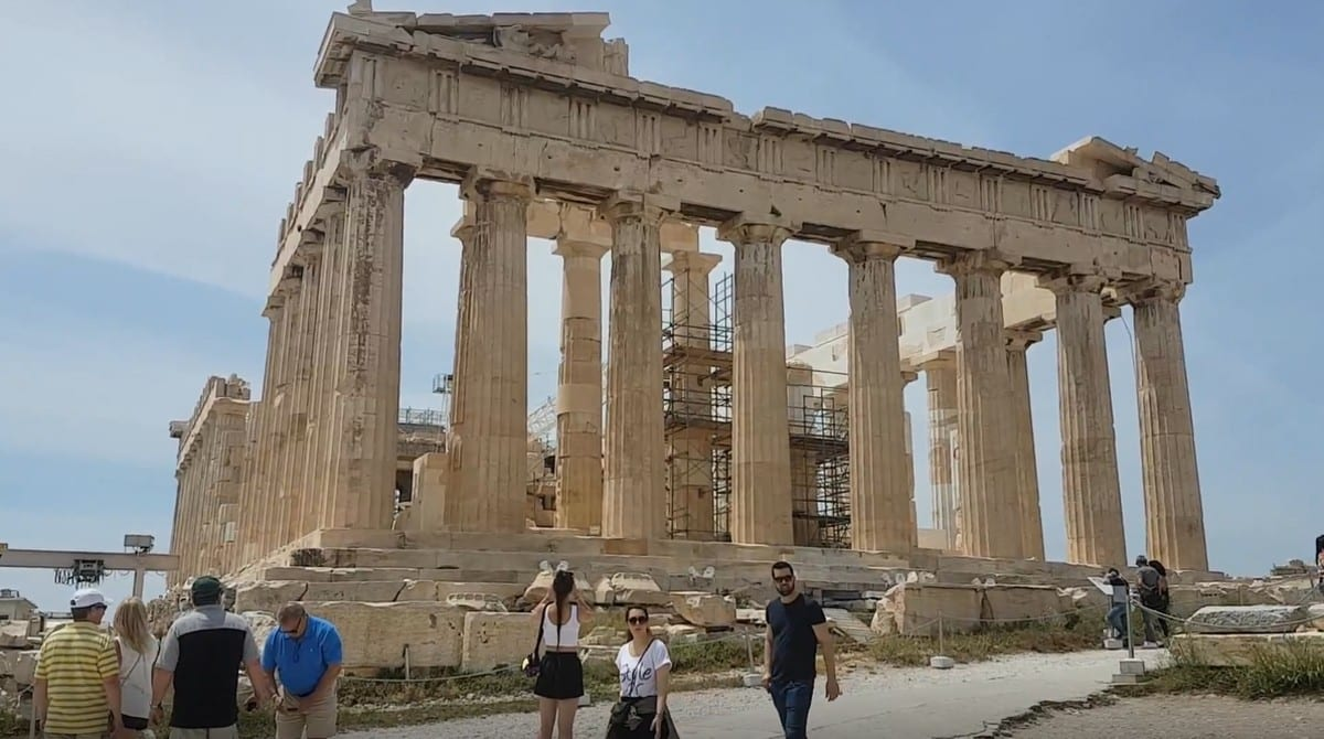 Athens is famous for the Parthenon and the Acropolis - a UNESCO World Heritage Site in Greece