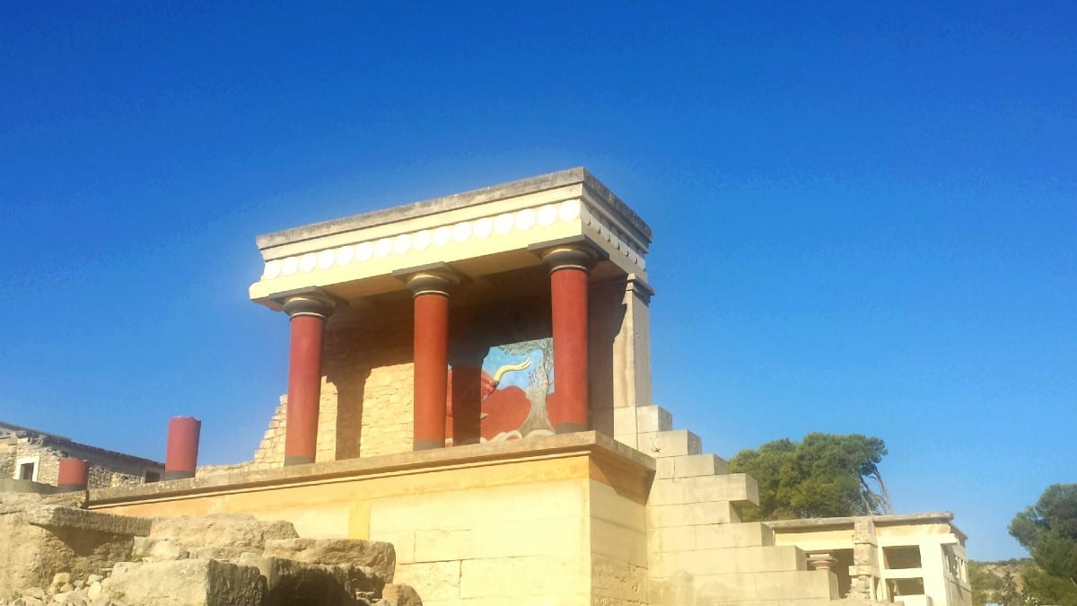 Knossos is a must see when visiting Crete