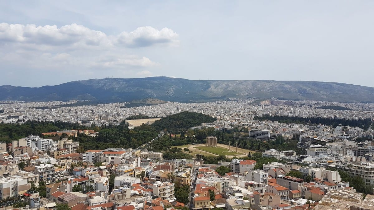 A view over Athens