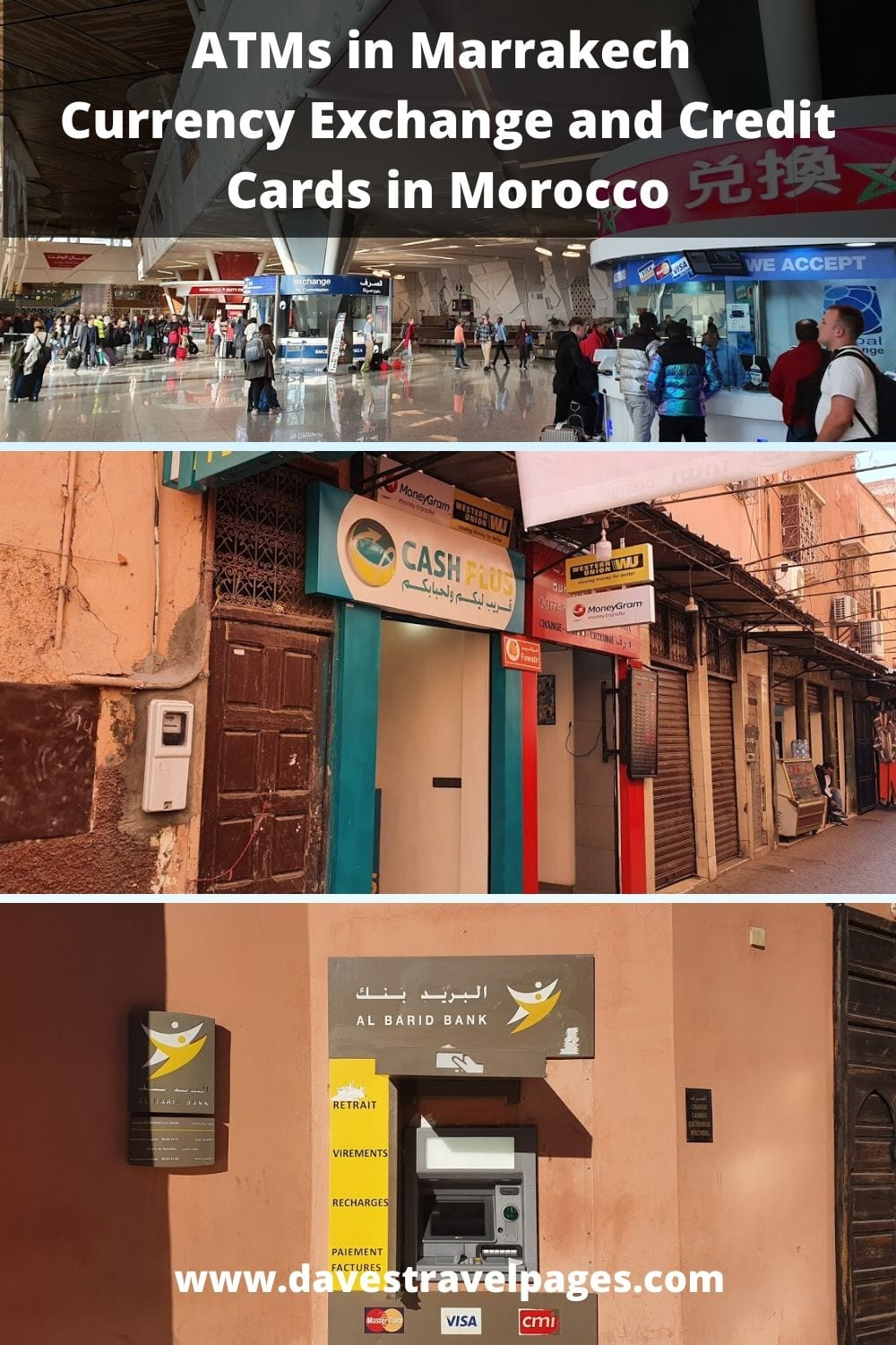 ATMs in Marrakech - Currency Exchange and Credit Cards in Morocco