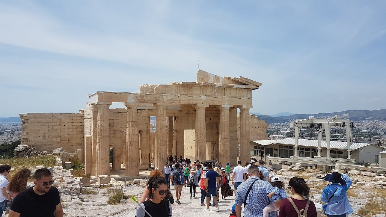 A guided tour of the Acropolis