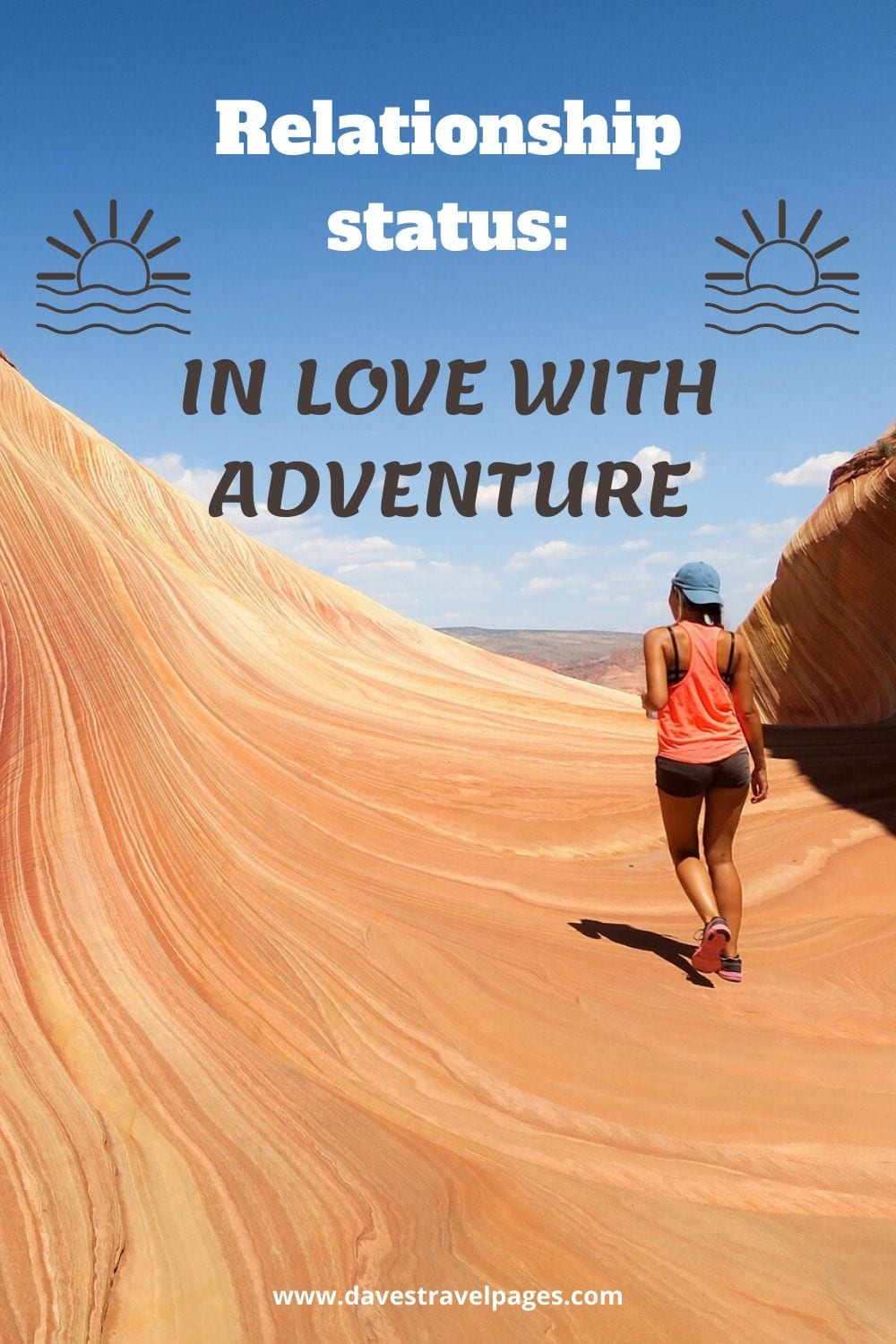 "Adventure and Travel Quotes: ""Relationship status: in love with adventure"""