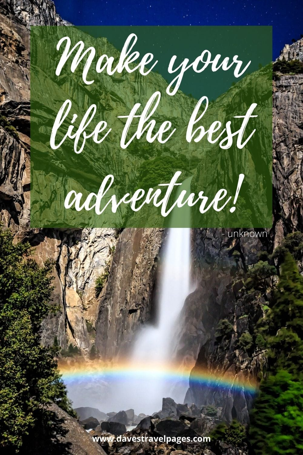 Quotes about travel and adventure: Make your life the best adventure!