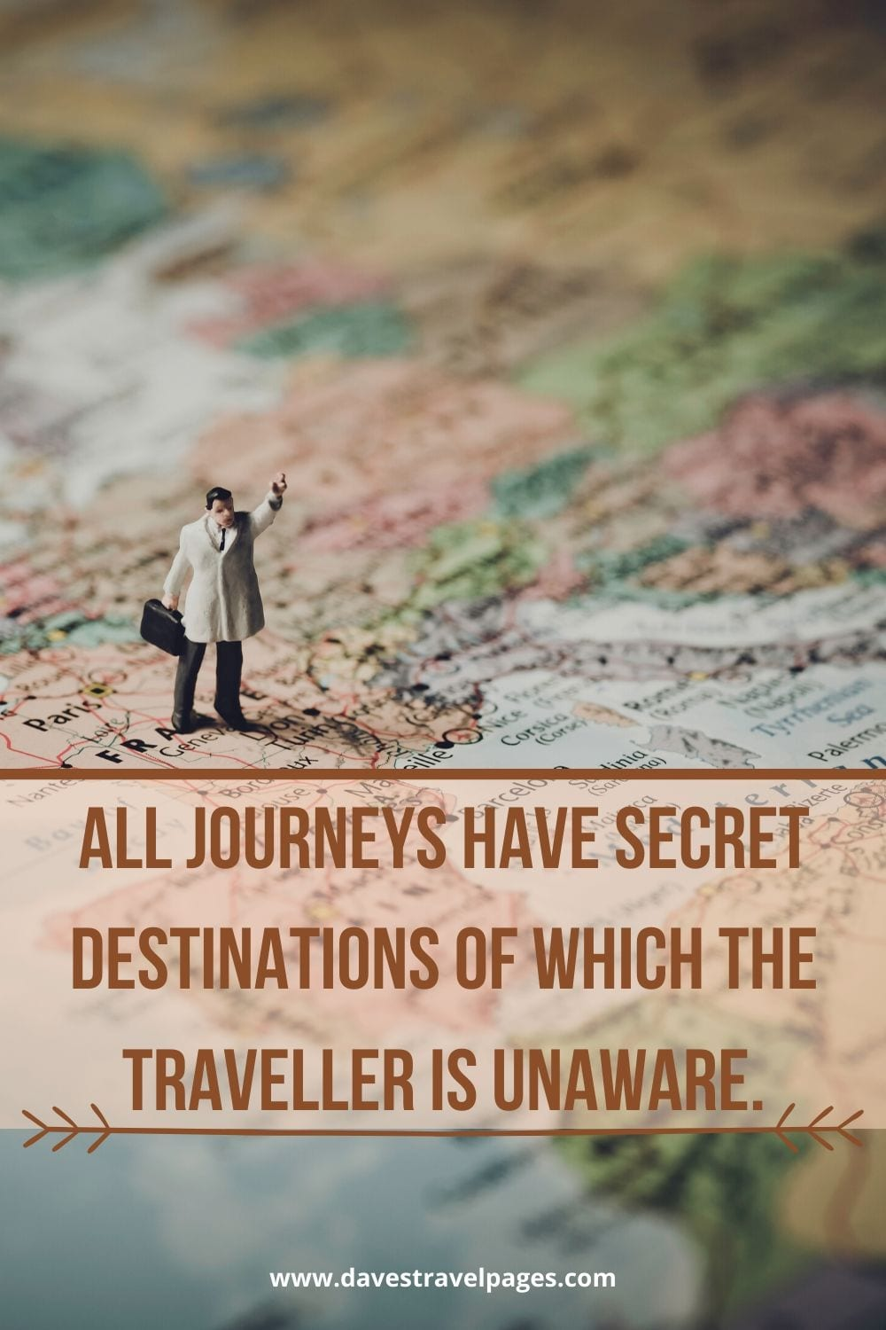 """Journey quotes: """"All journeys have secret destinations of which the traveller is unaware."""" – Martin Buber"""