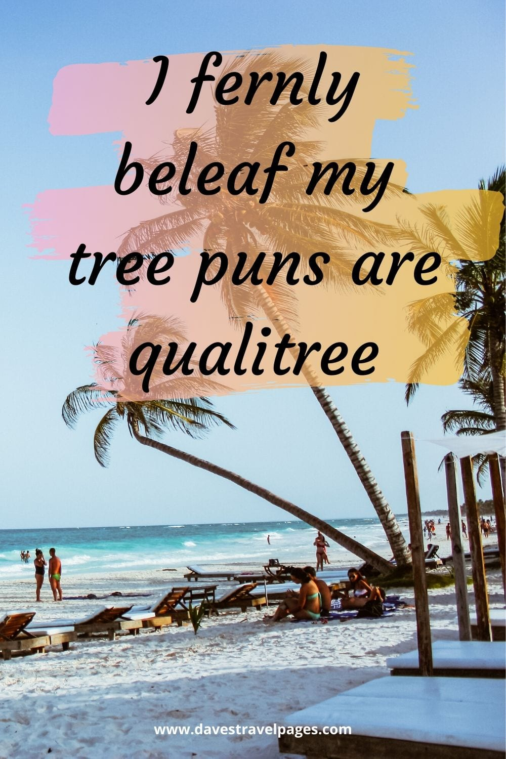 """Funny nature captions: """"I fernly beleaf my tree puns are qualitree."""""""