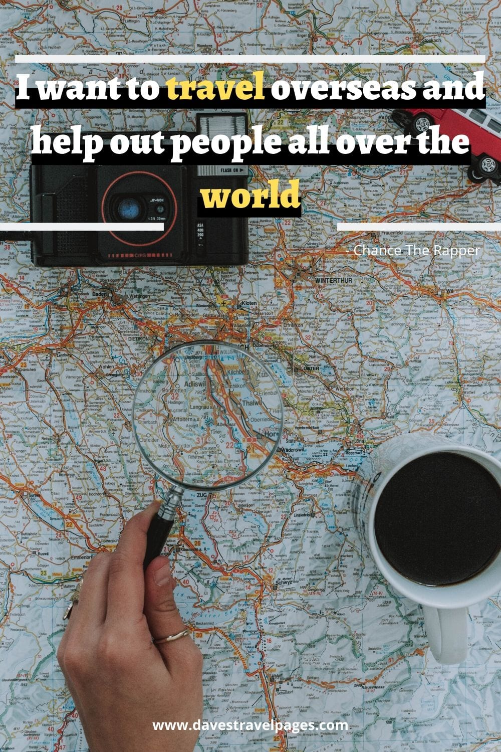Travel the world captions: I want to travel overseas and help out people all over the world. Chance The Rapper