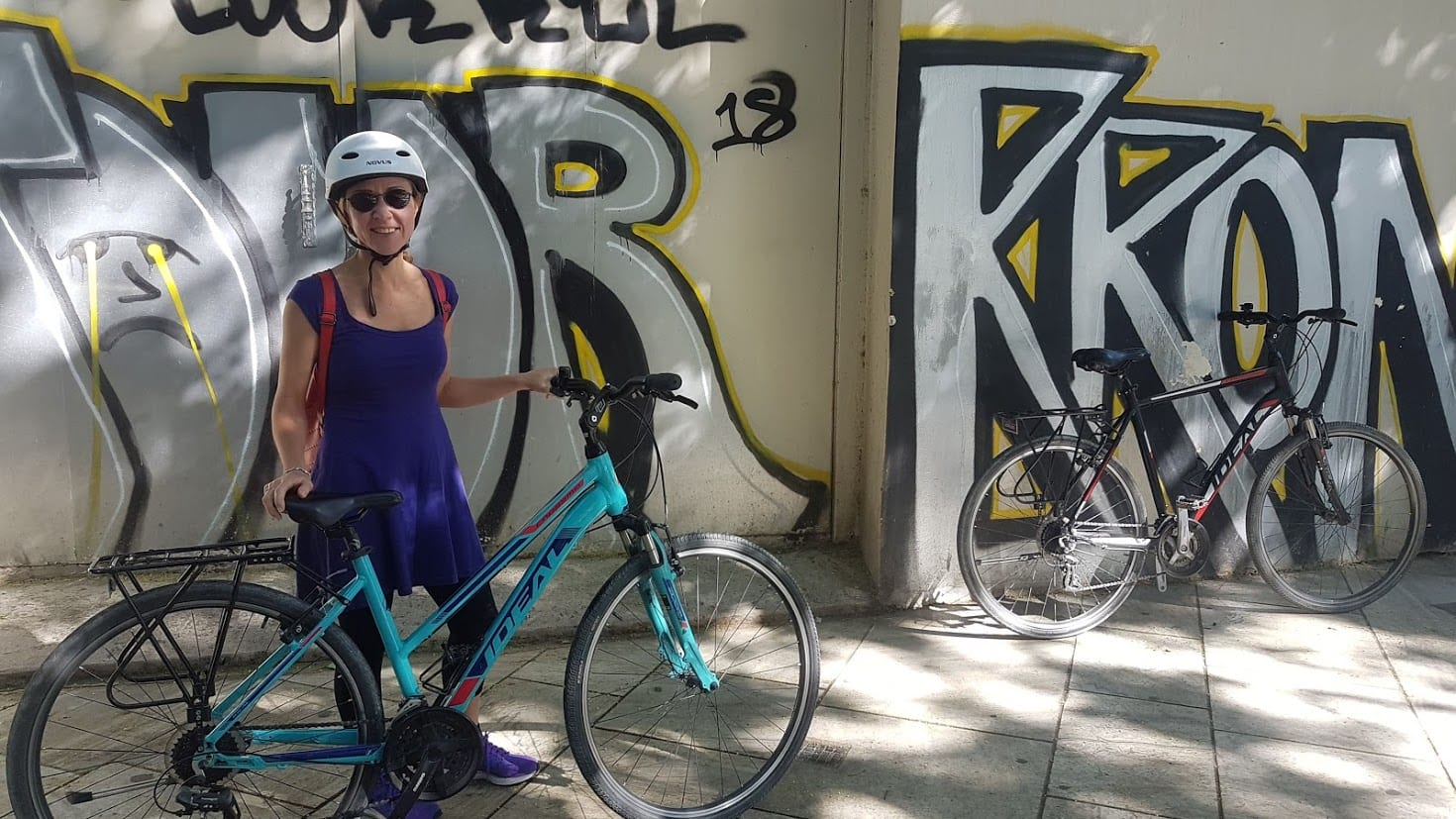 Exploring Athens by Bike
