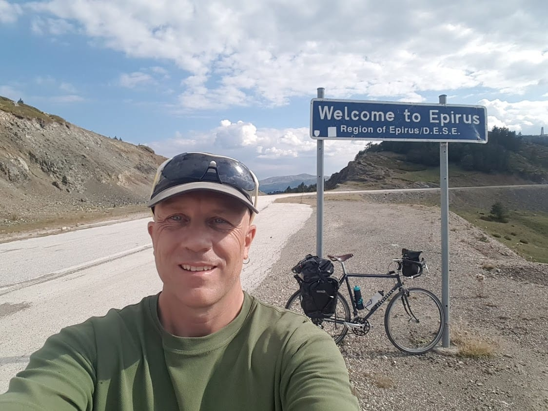 Dave briggs cycling epirus