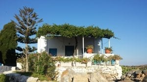 House in Schinoussa Island in Greece