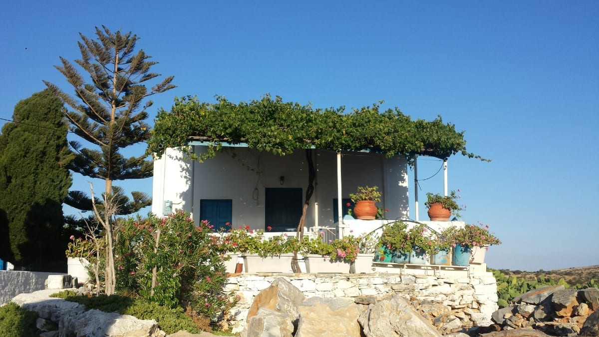 House in Schinoussa island Greece