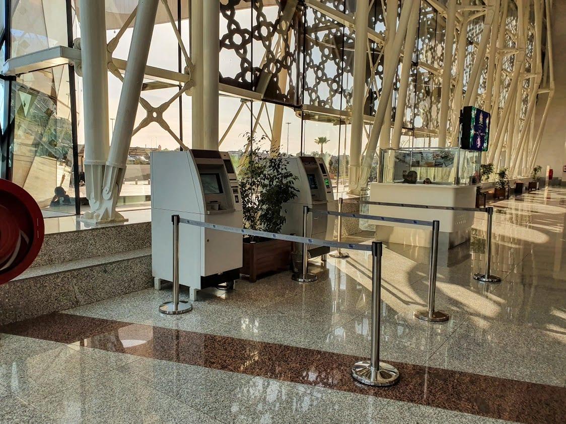 Marrakech Airport ATM