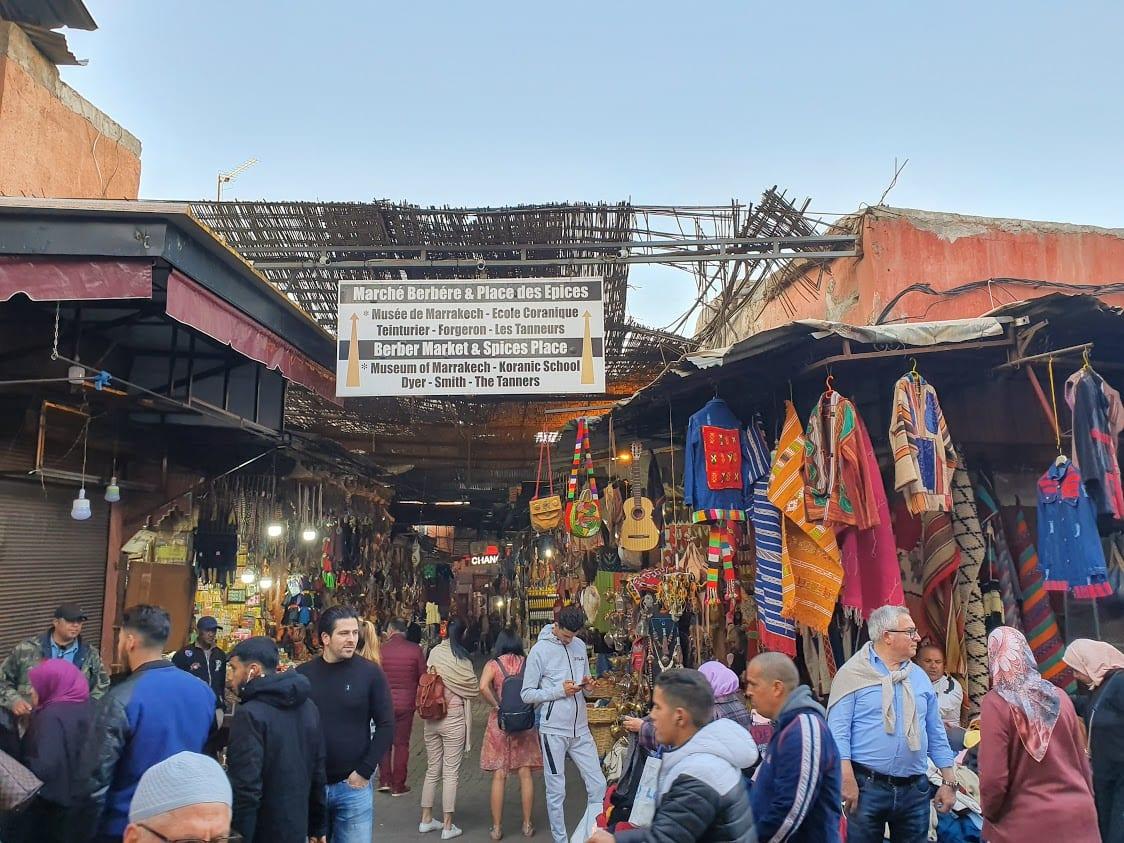 Exploring the Medina of Marrakech