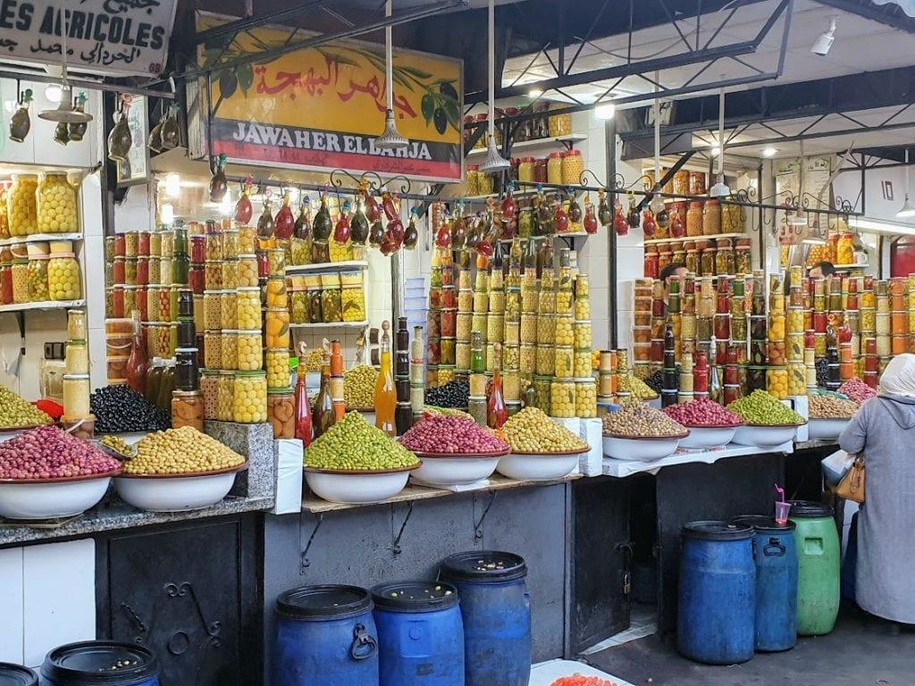 Shopping in Marrakech Morocco