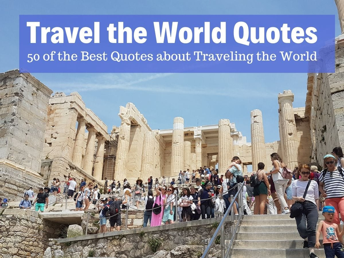 Travel the world quotes collection