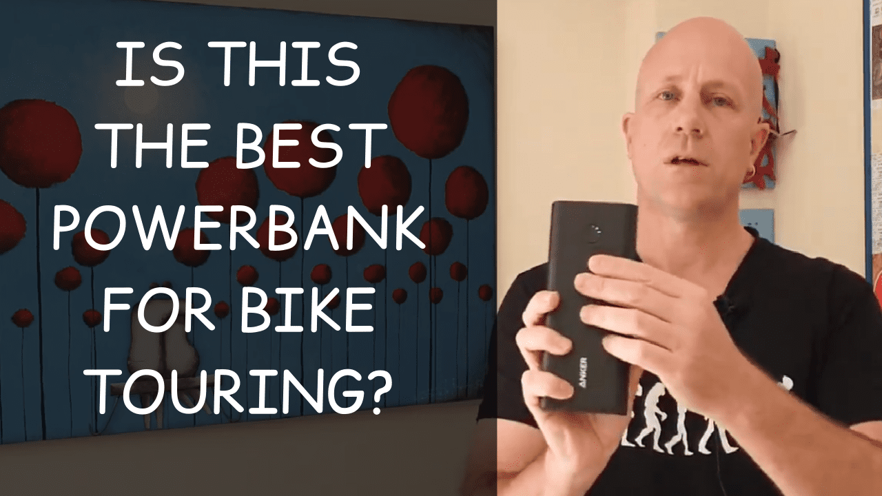 The best powerbank for bike touring