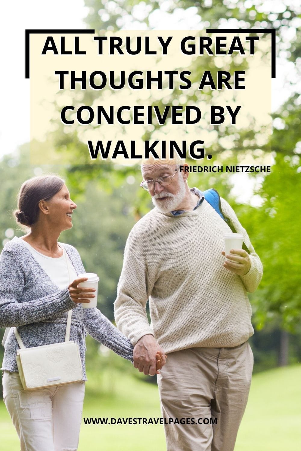 Morning Walk Quotes: All truly great thoughts are conceived by walking. - Friedrich Nietzsche