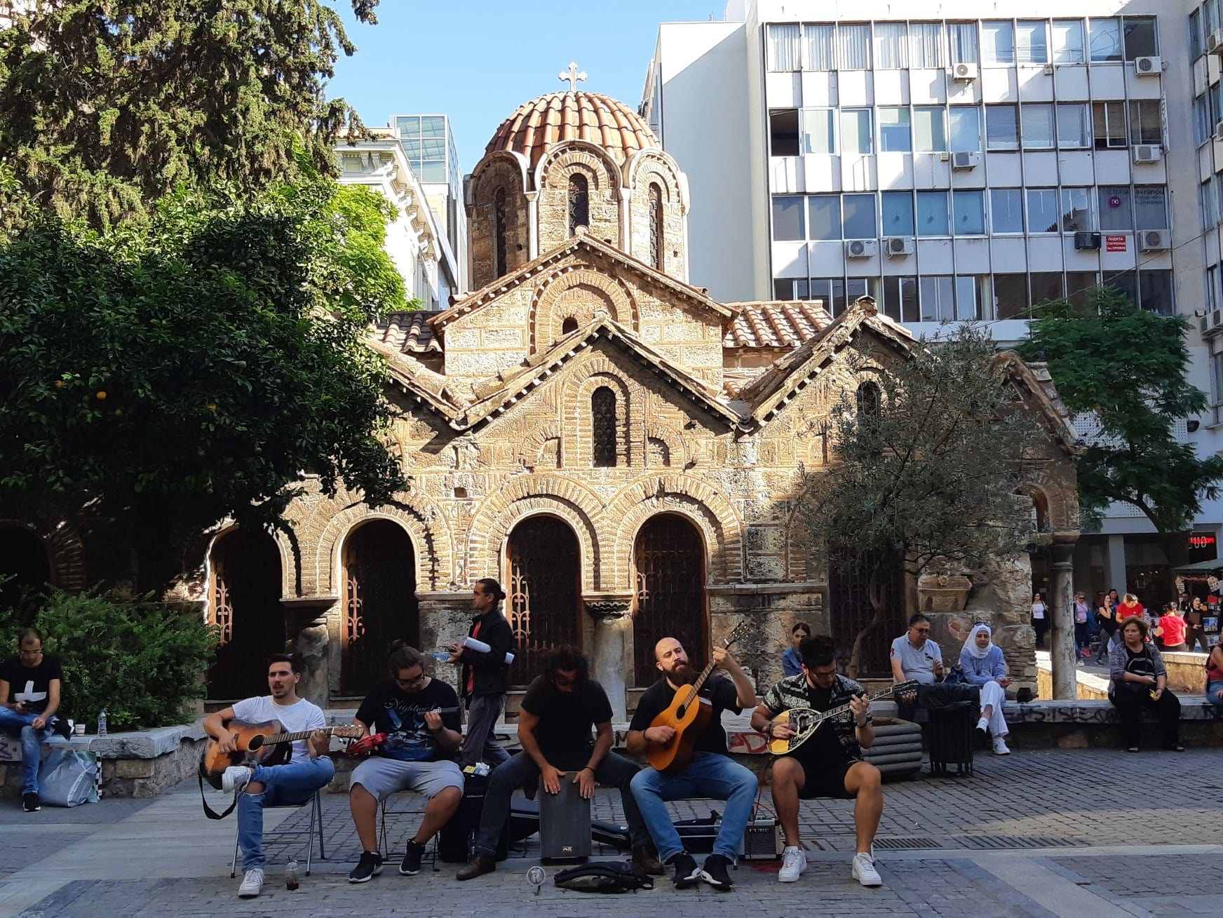 buskers in athens greece will be affected by new covid measures
