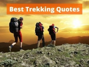 The 50 best trekking quotes for travel inspiration