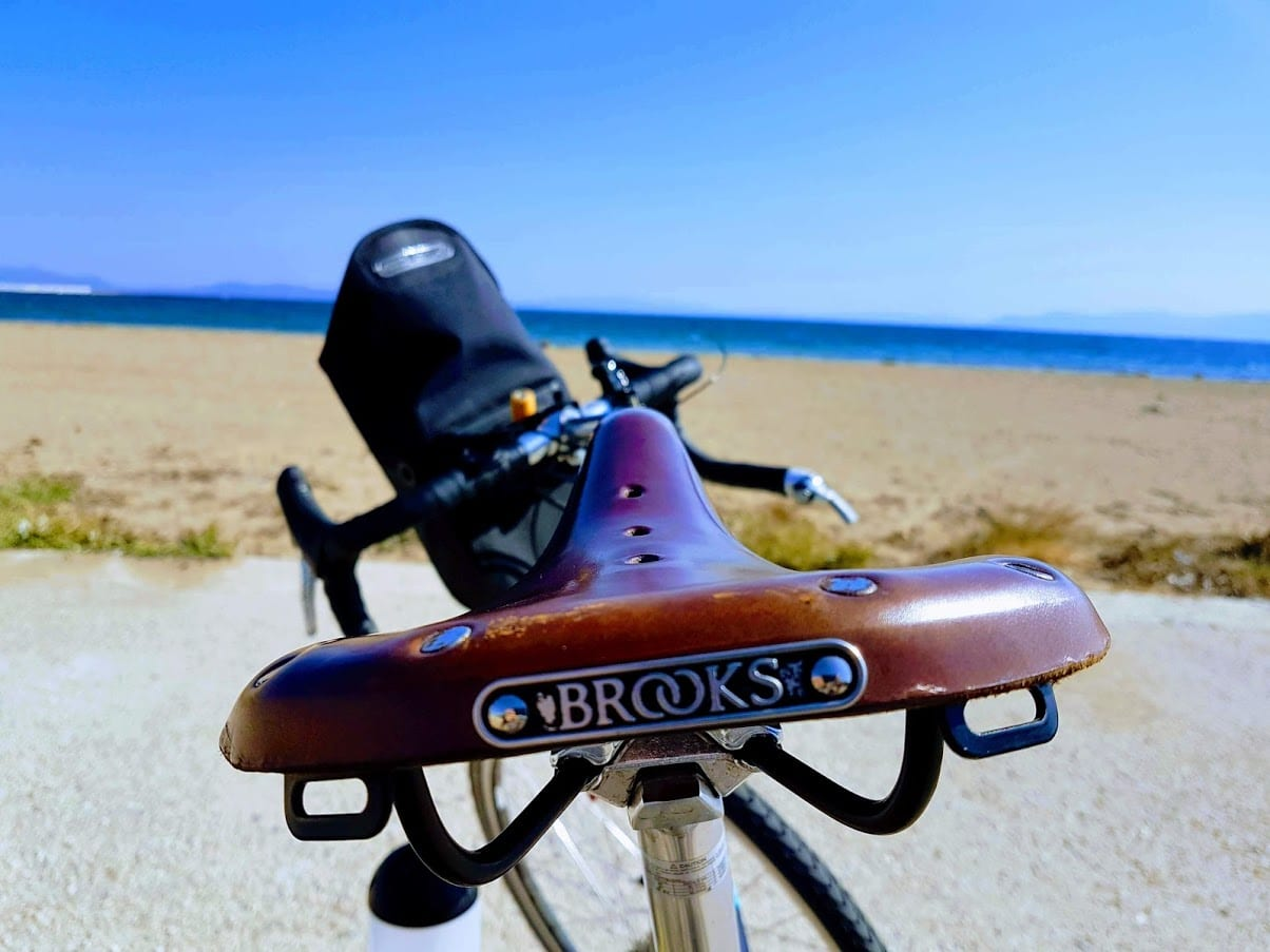Brooks B17 saddle for touring