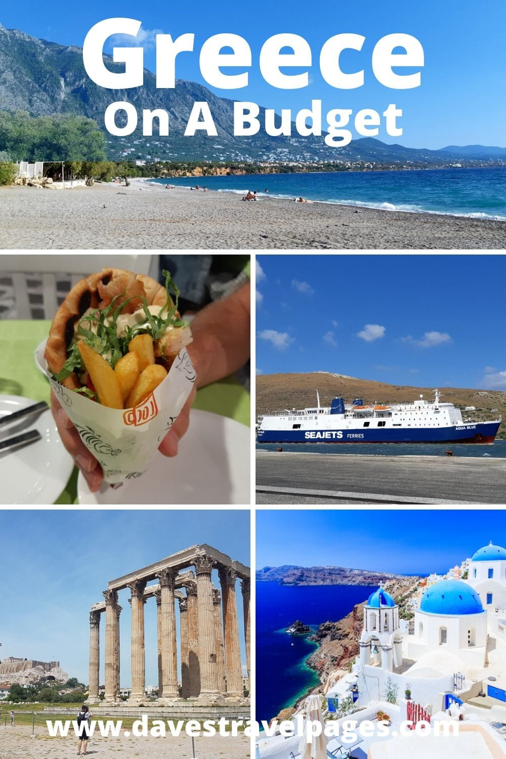 How to travel Greece on a budget