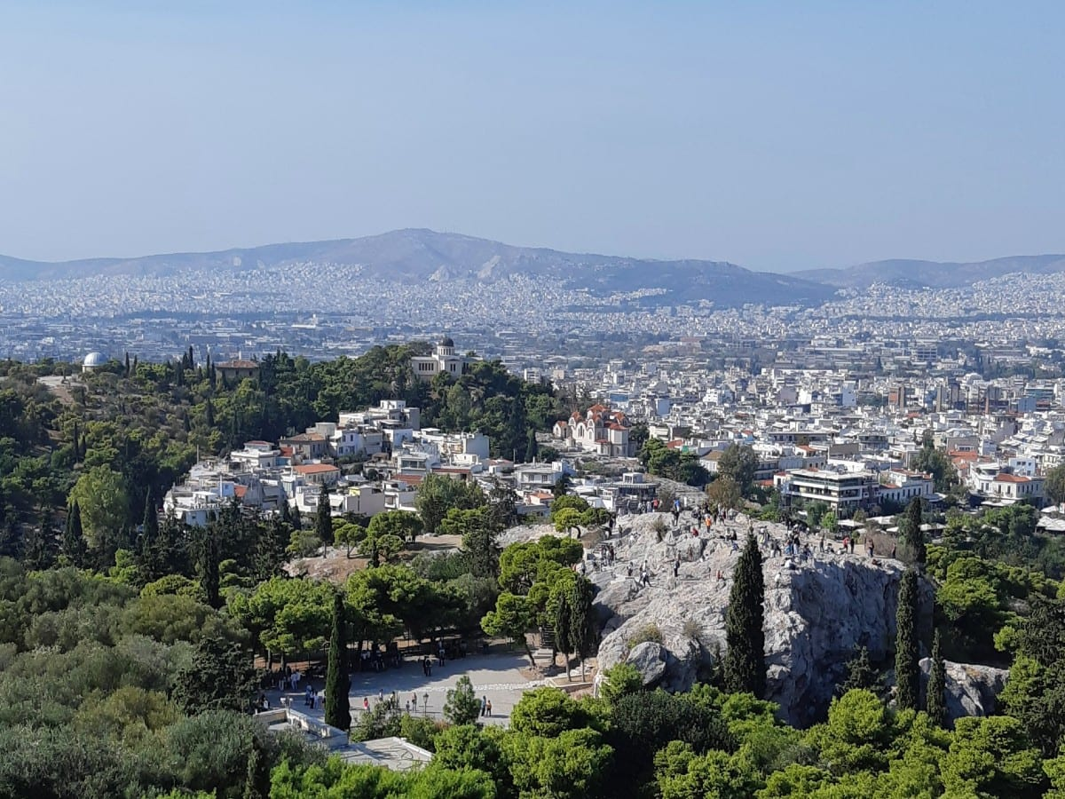 Taking a walk around ancient Athens