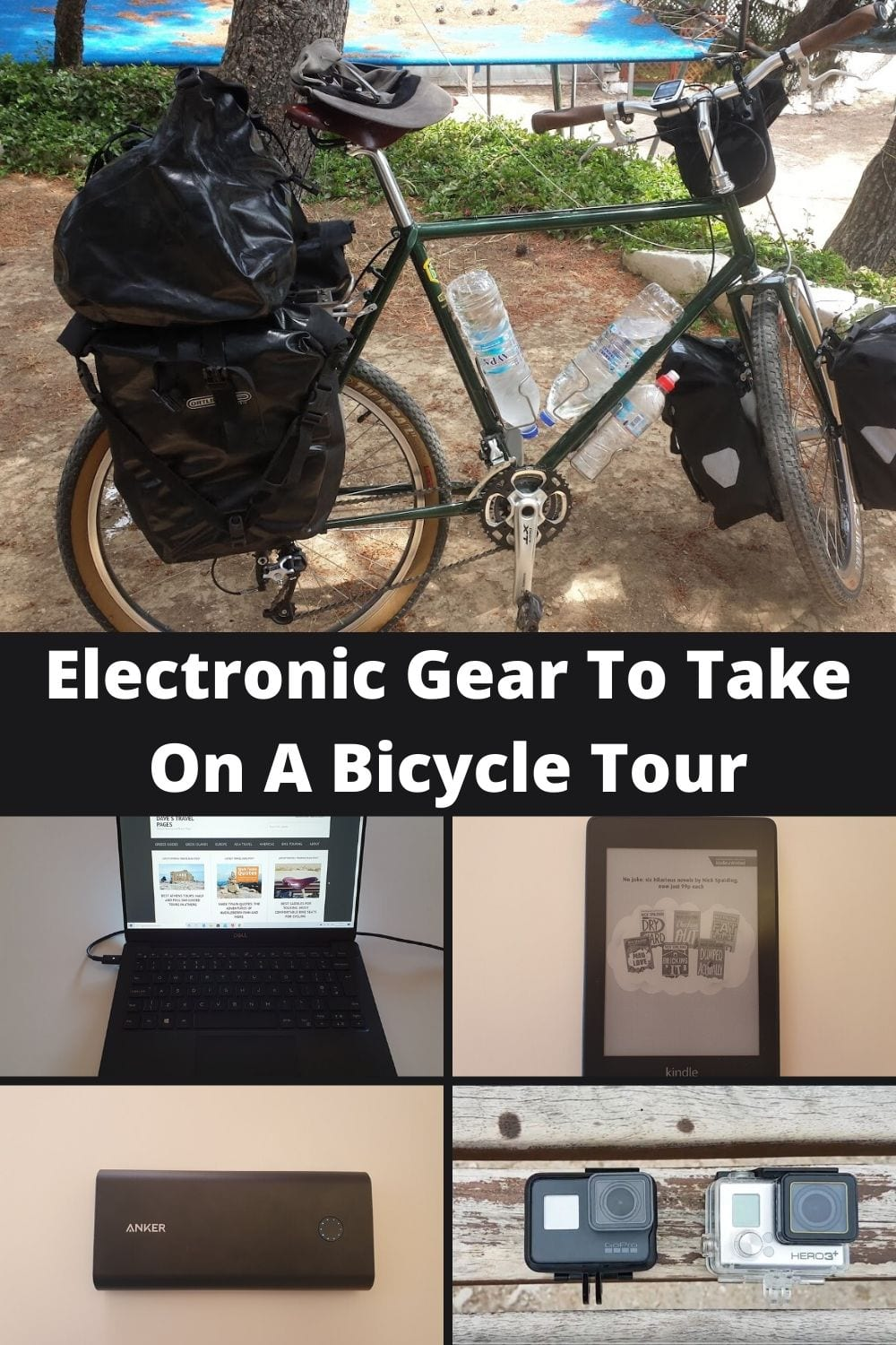 A guide to what electronic gear to take on a bicycle tour