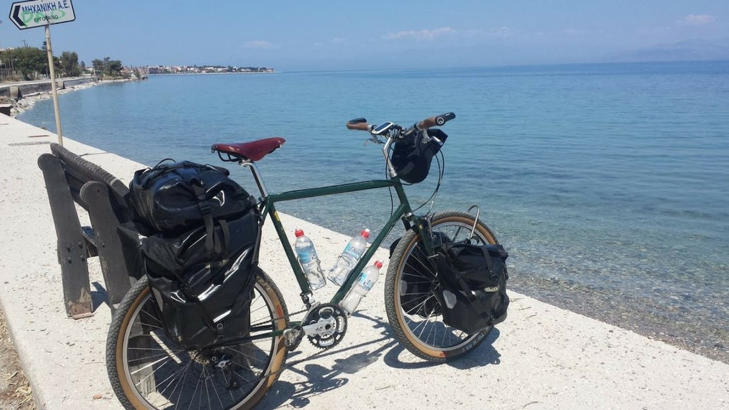 Electronic Gear for Bicycle Touring