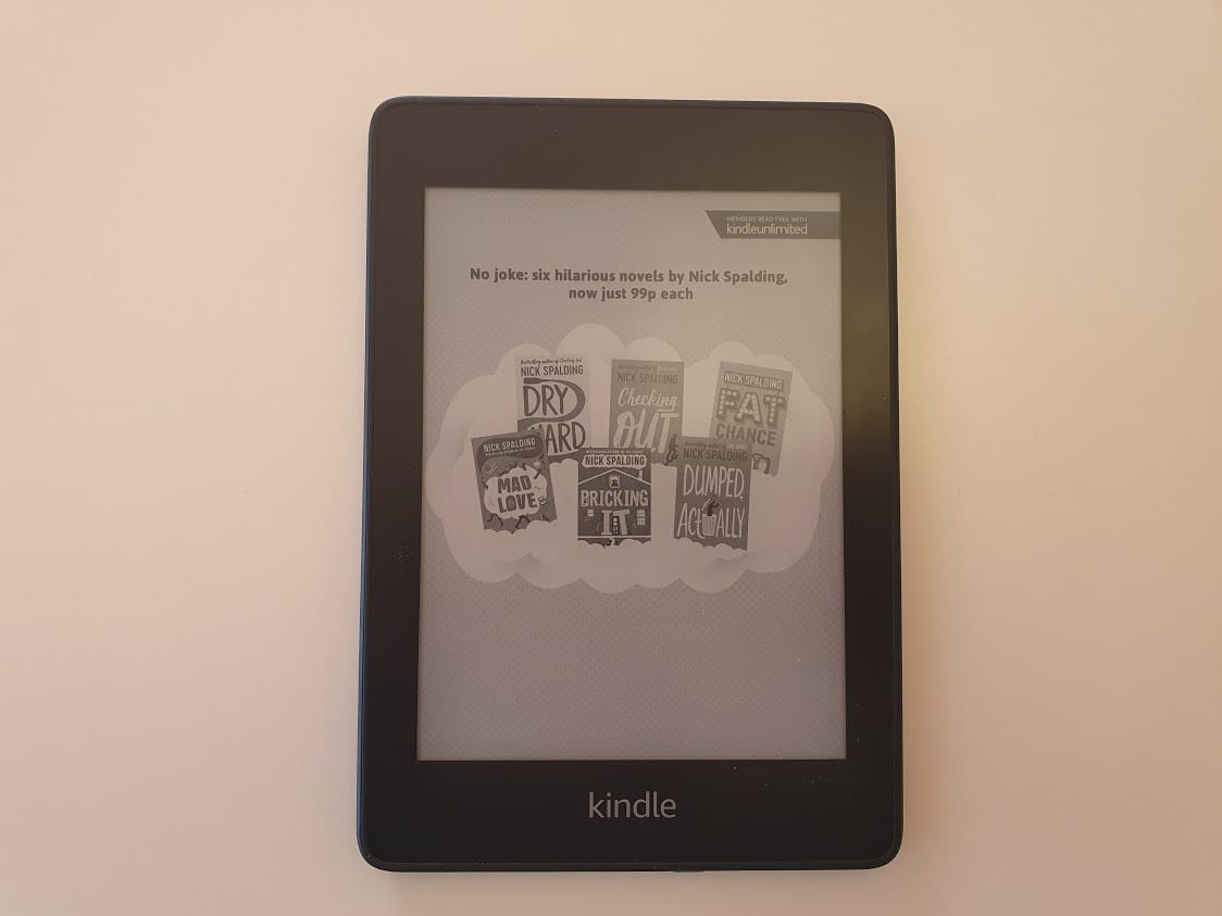 Taking a Kindle when bicycle touring