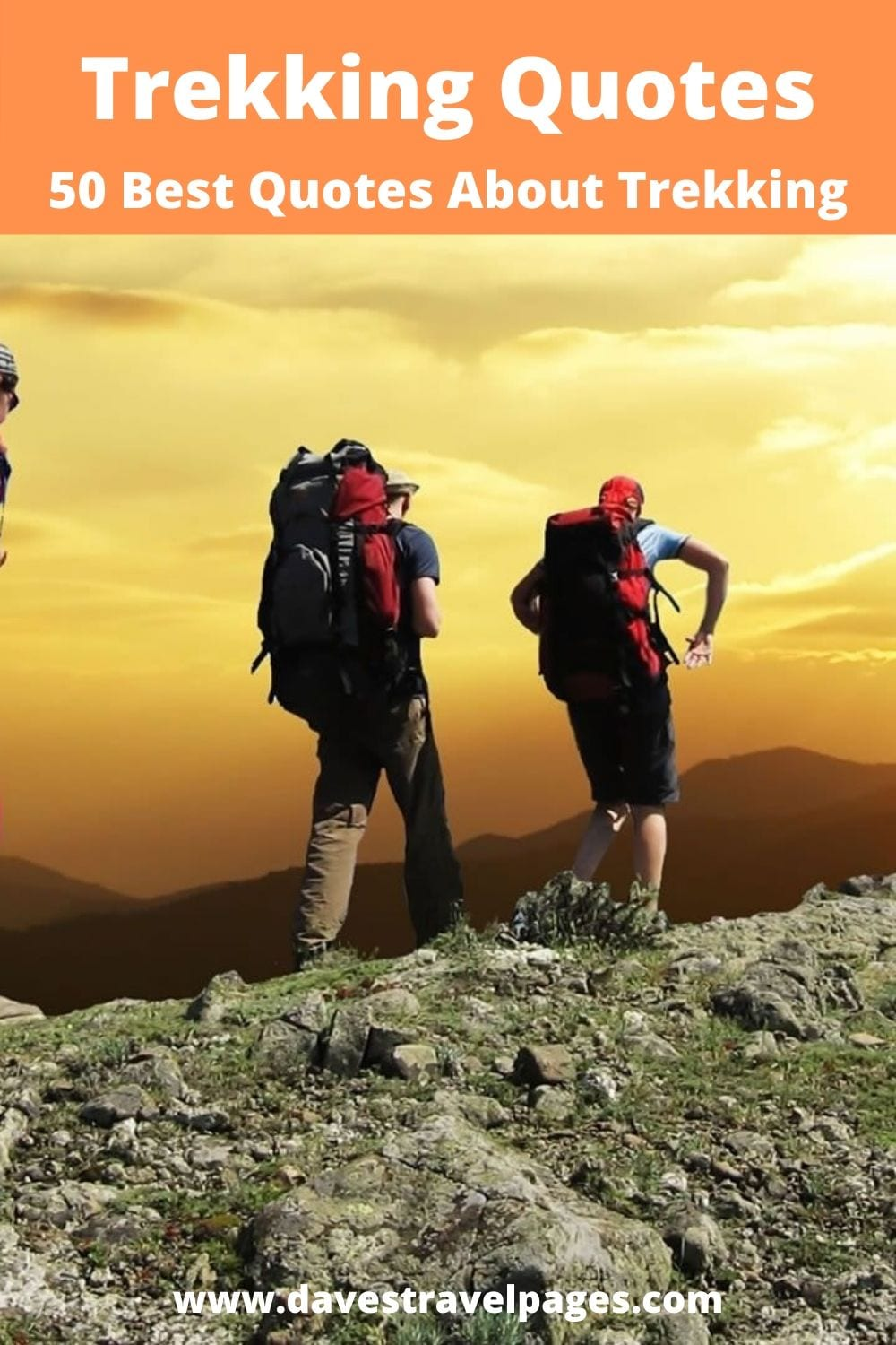 50 of the best hiking and trekking quotes