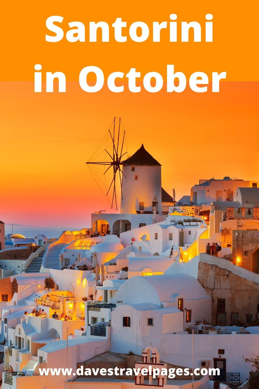 A travel guide to visiting Santorini in October - Perhaps the perfect time to go to this beautiful Greek island!