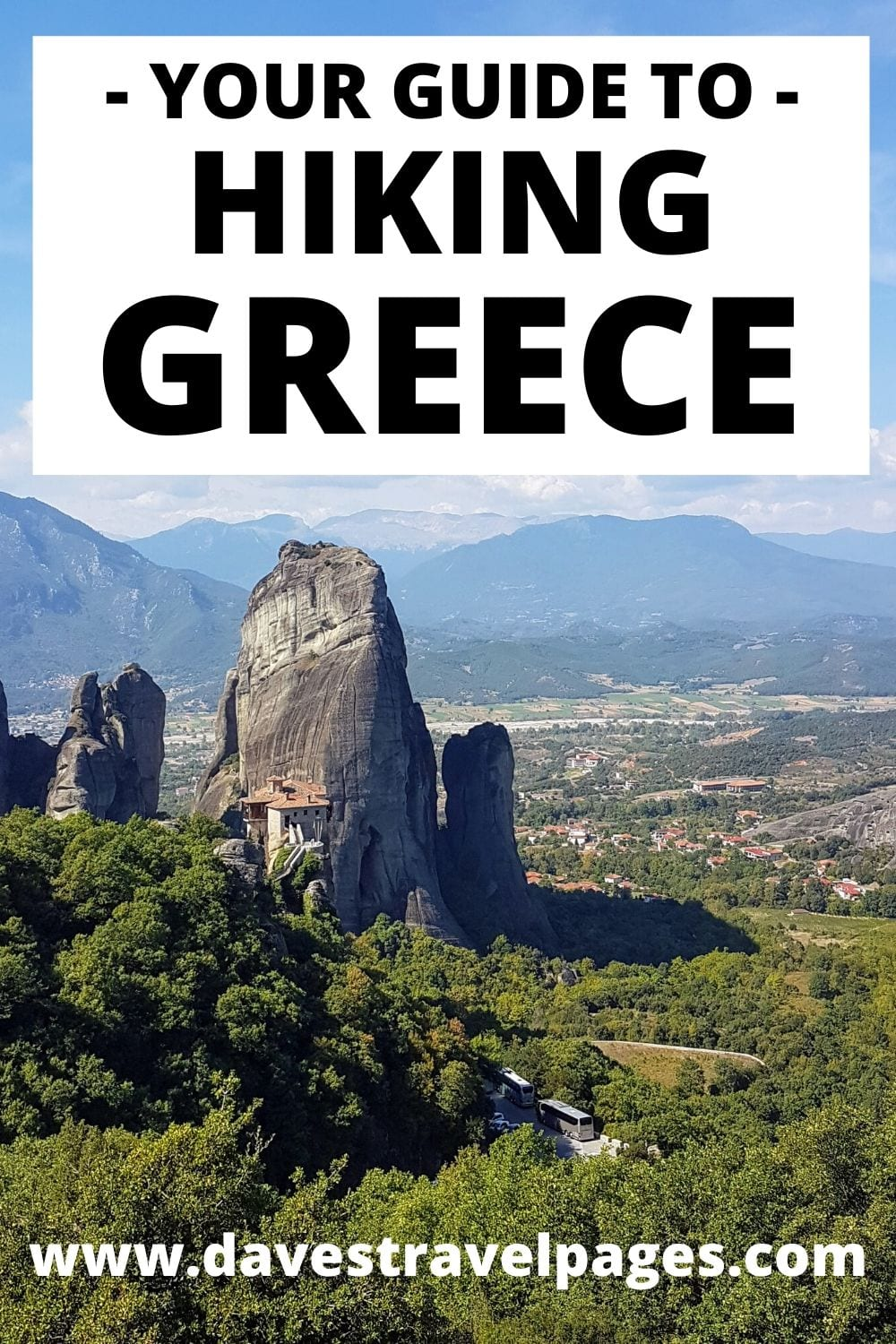 Hiking in Greece - Trails on the Greek Islands and Mainland