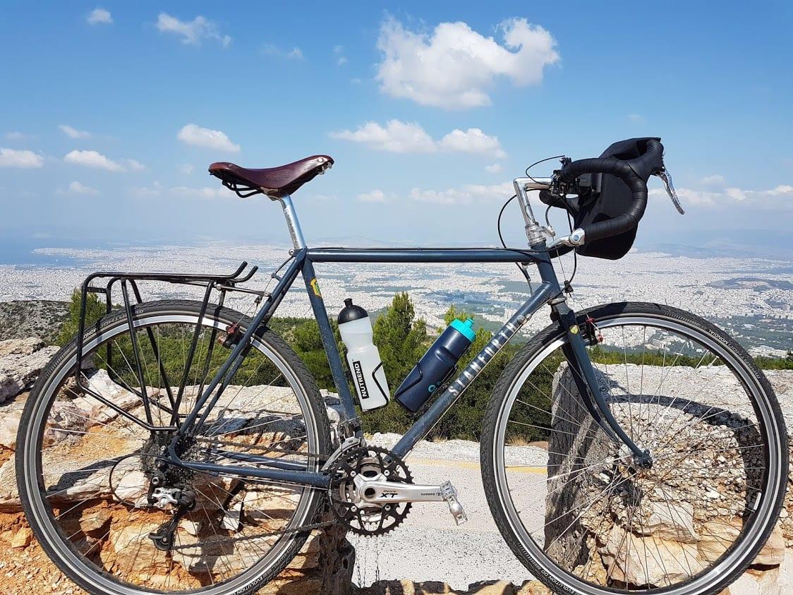 Bicycle Rack On Stanforth Bike