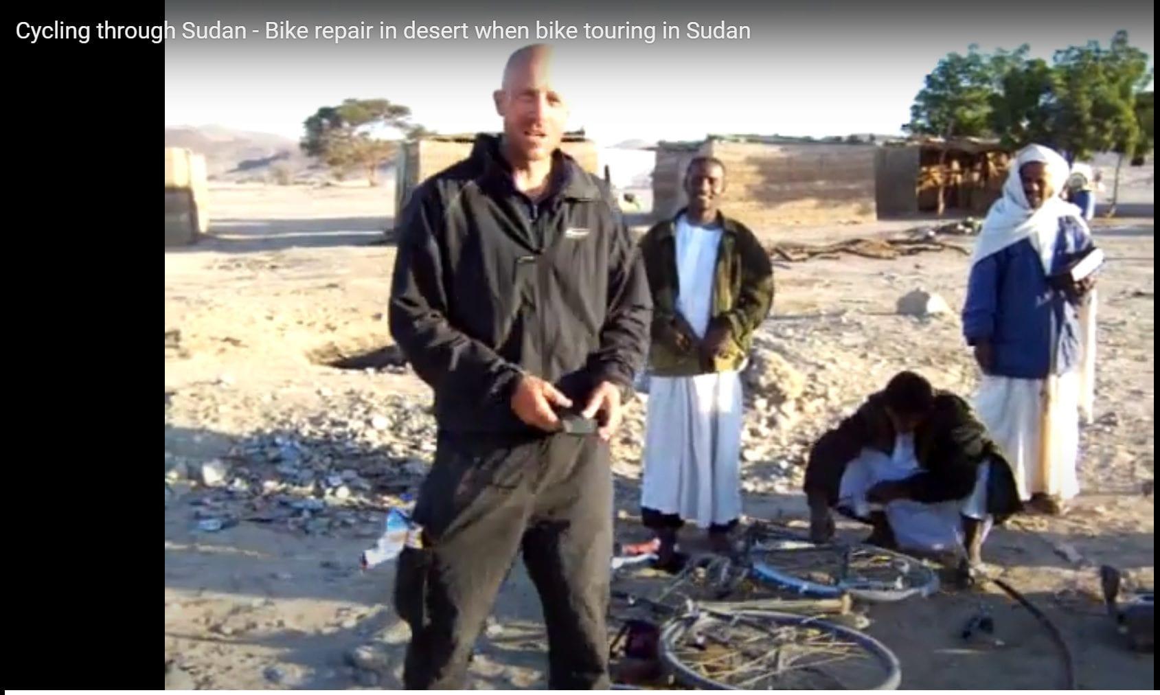 Fixing my broken rack in Sudan