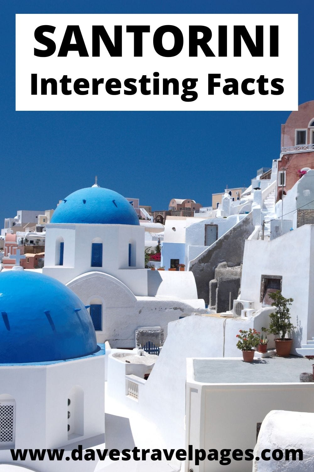 Fun and interesting facts about Santorini in Greece