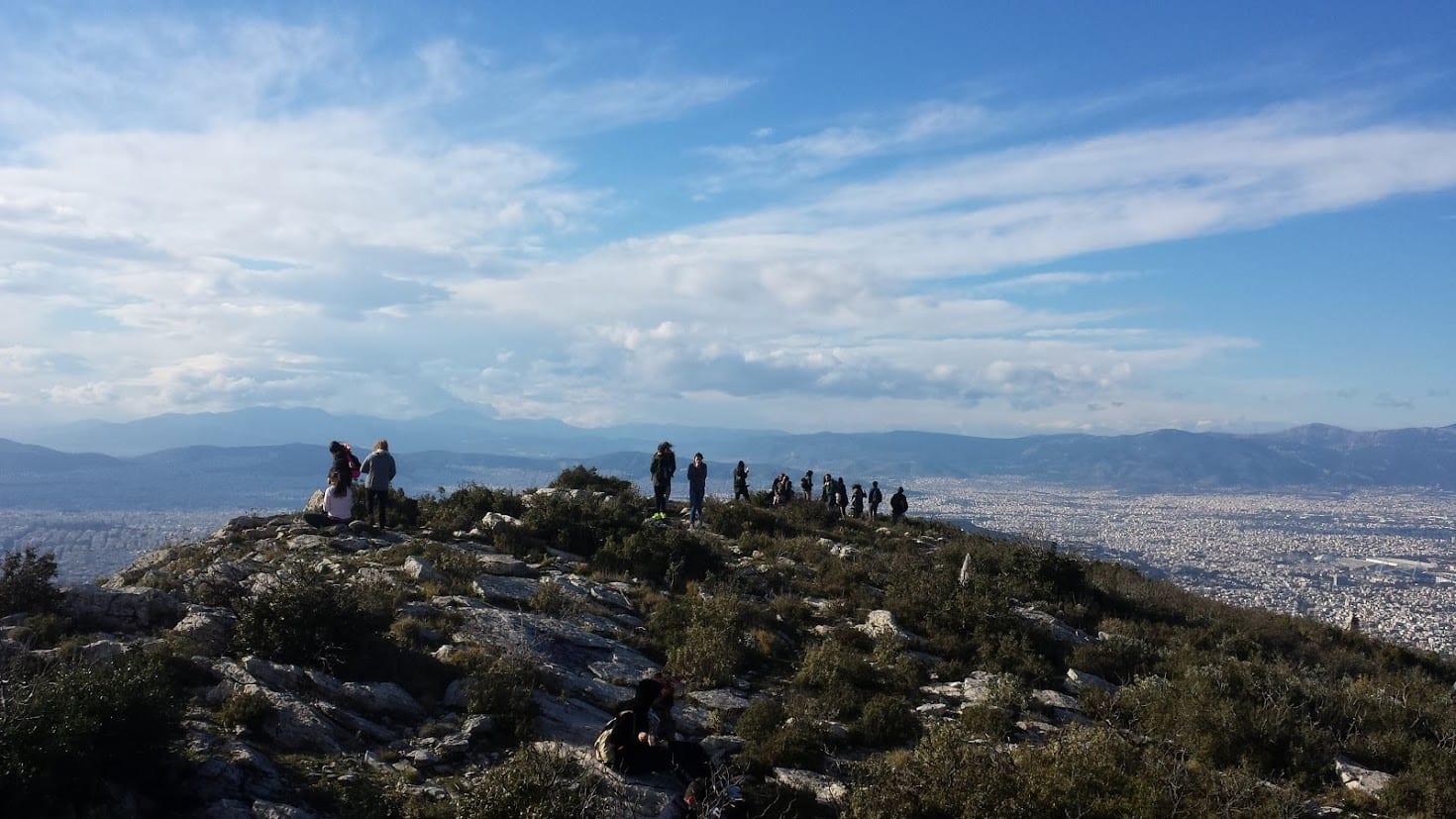 Hiking near Athens Greece