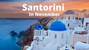 Top things to do in Santorini in November