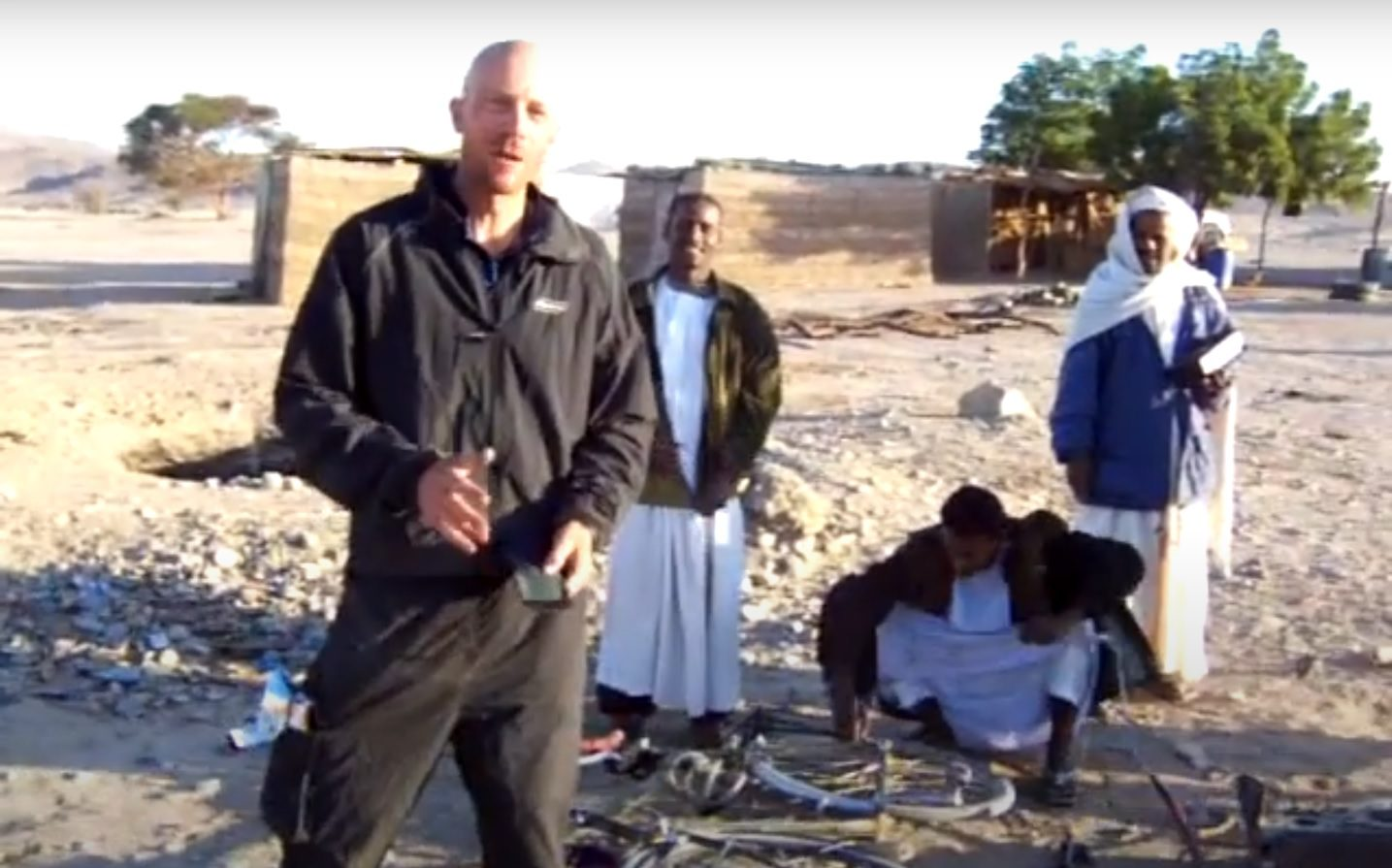 Rack repair cycling in Sudan
