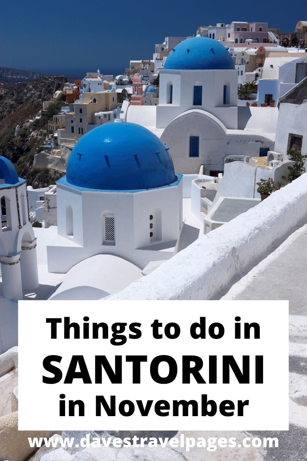 Best things to do in Santorini in November travel guide.