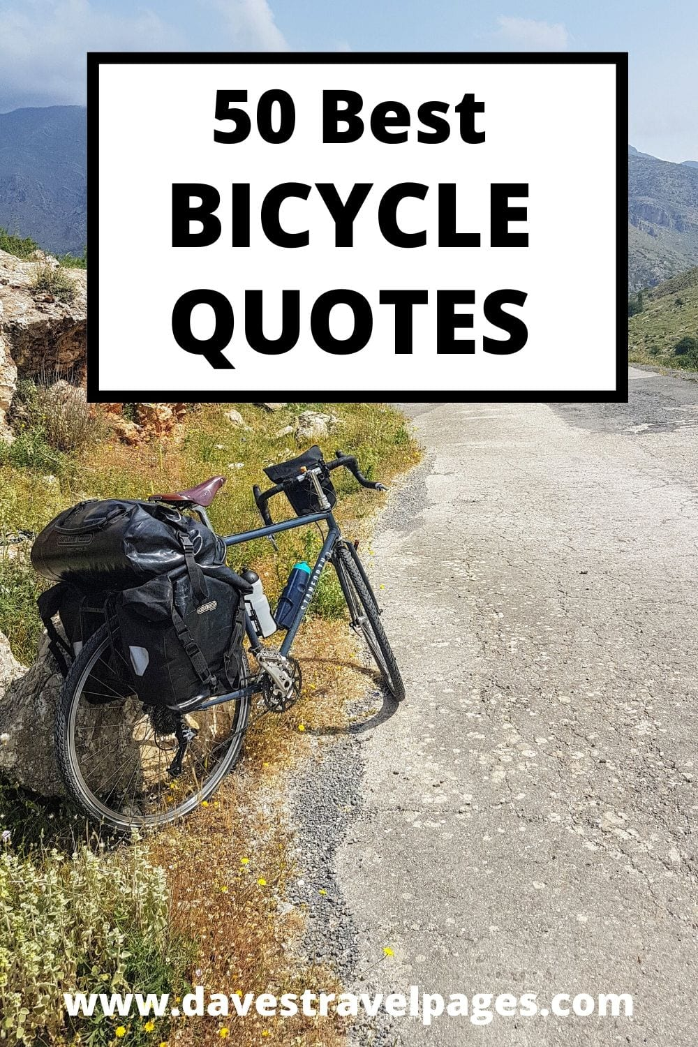 A collection of the 50 Best Bicycle Quotes