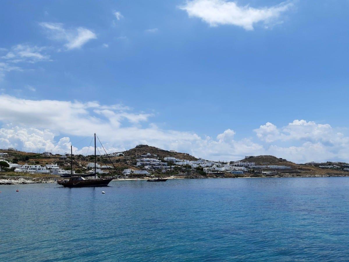 Agios Ioannis in the Greek island of Mykonos