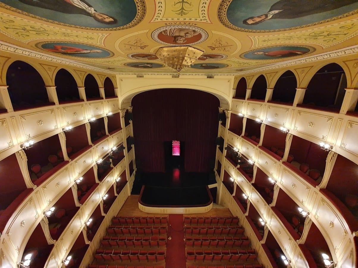The Apollon Theatre in Syros