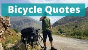 50 of the best Bicycle Quotes