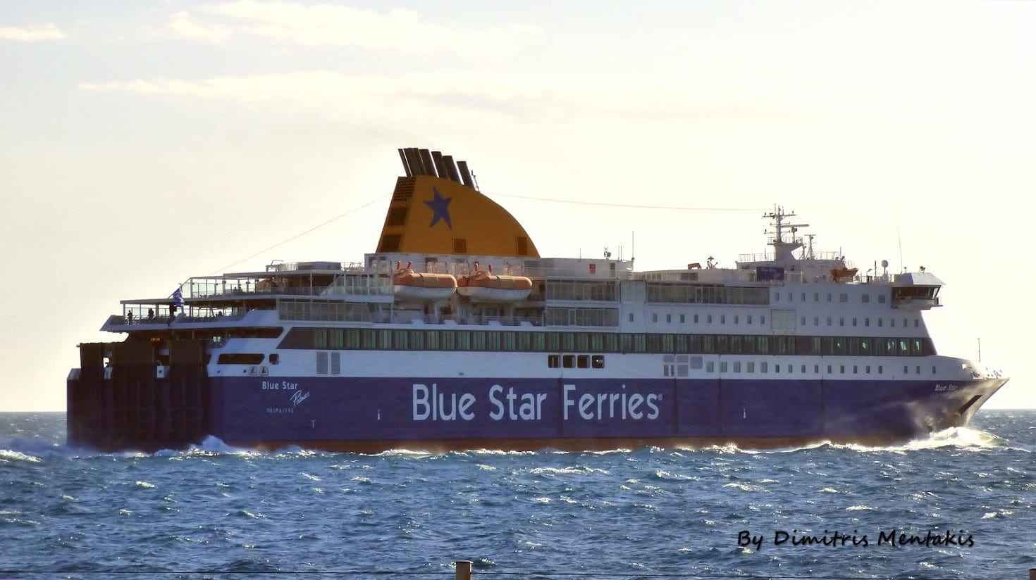 Blue Star Patmos Ferry