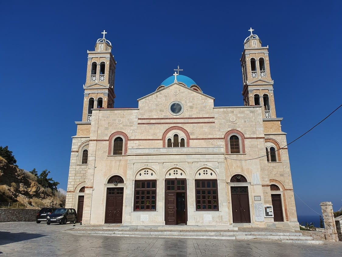 Church of the Resurrection of Christ in Syros Greece