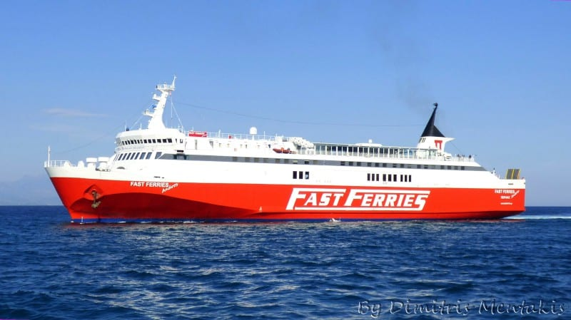 Fast Ferries in Greece