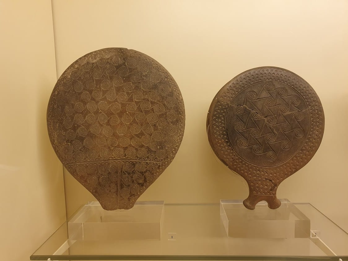 The mysterious frying pans at the archaeological museums of syros