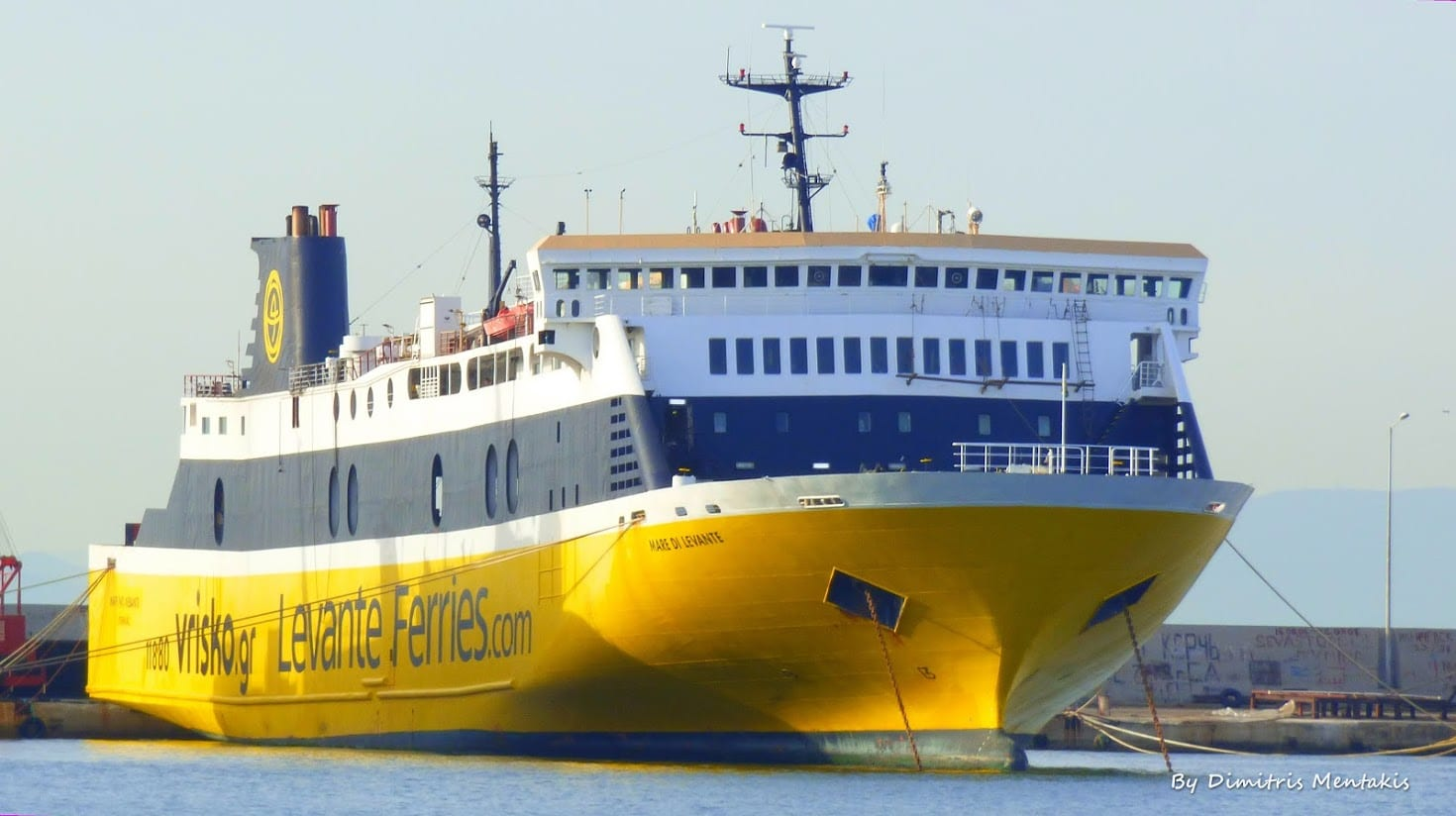 Levante Ferries in Greece